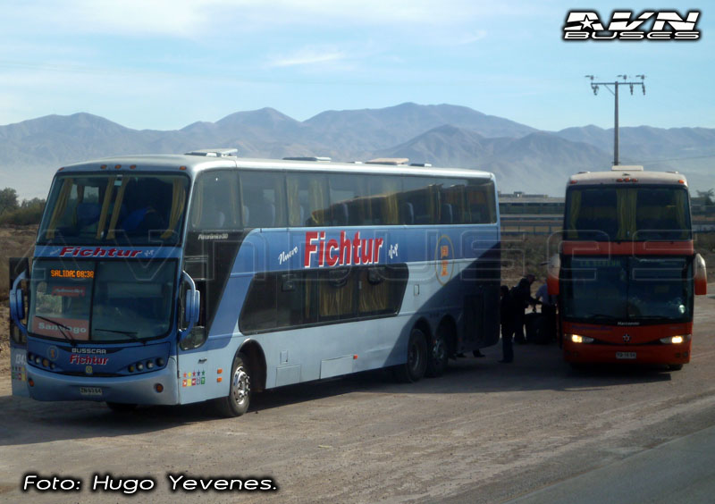 Busscar Panoramico DD - Volvo & Marcopolo Paradiso 1800 DD - Scania / Fichtur & Pullman Bus