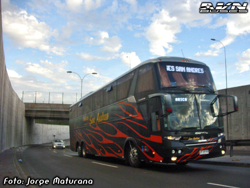 Comil Campione 4.05 HD - Scania / Pullman San Andres