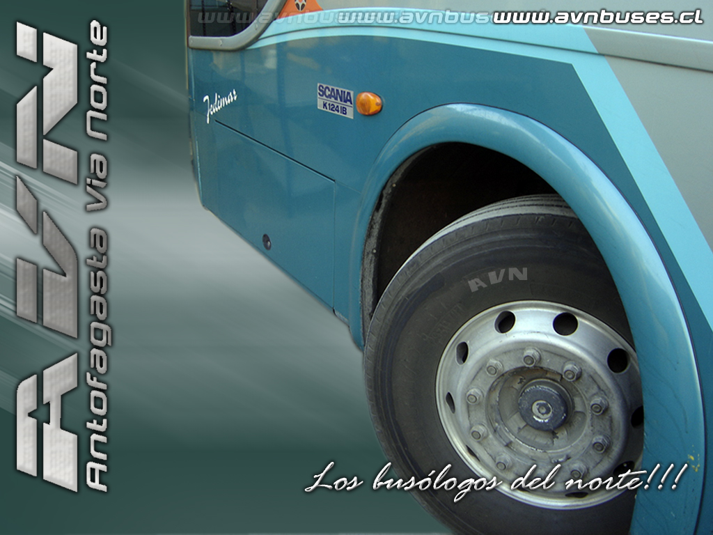 Wallpaper Tur-Bus Rueda