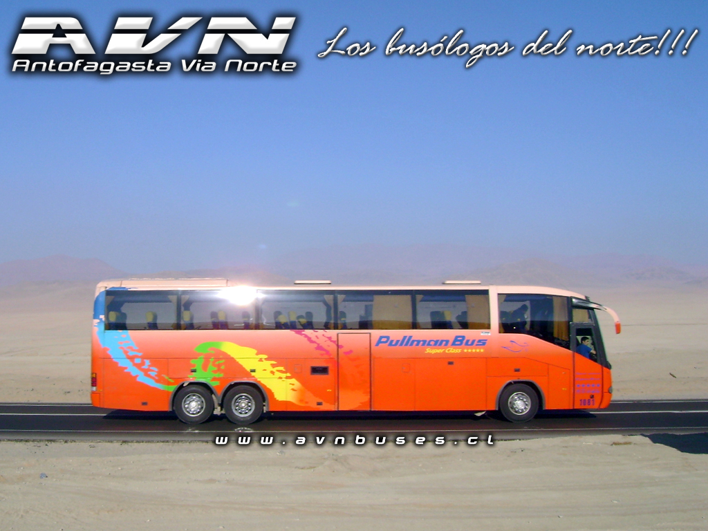 Wallpaper Irizar Pullman Bus