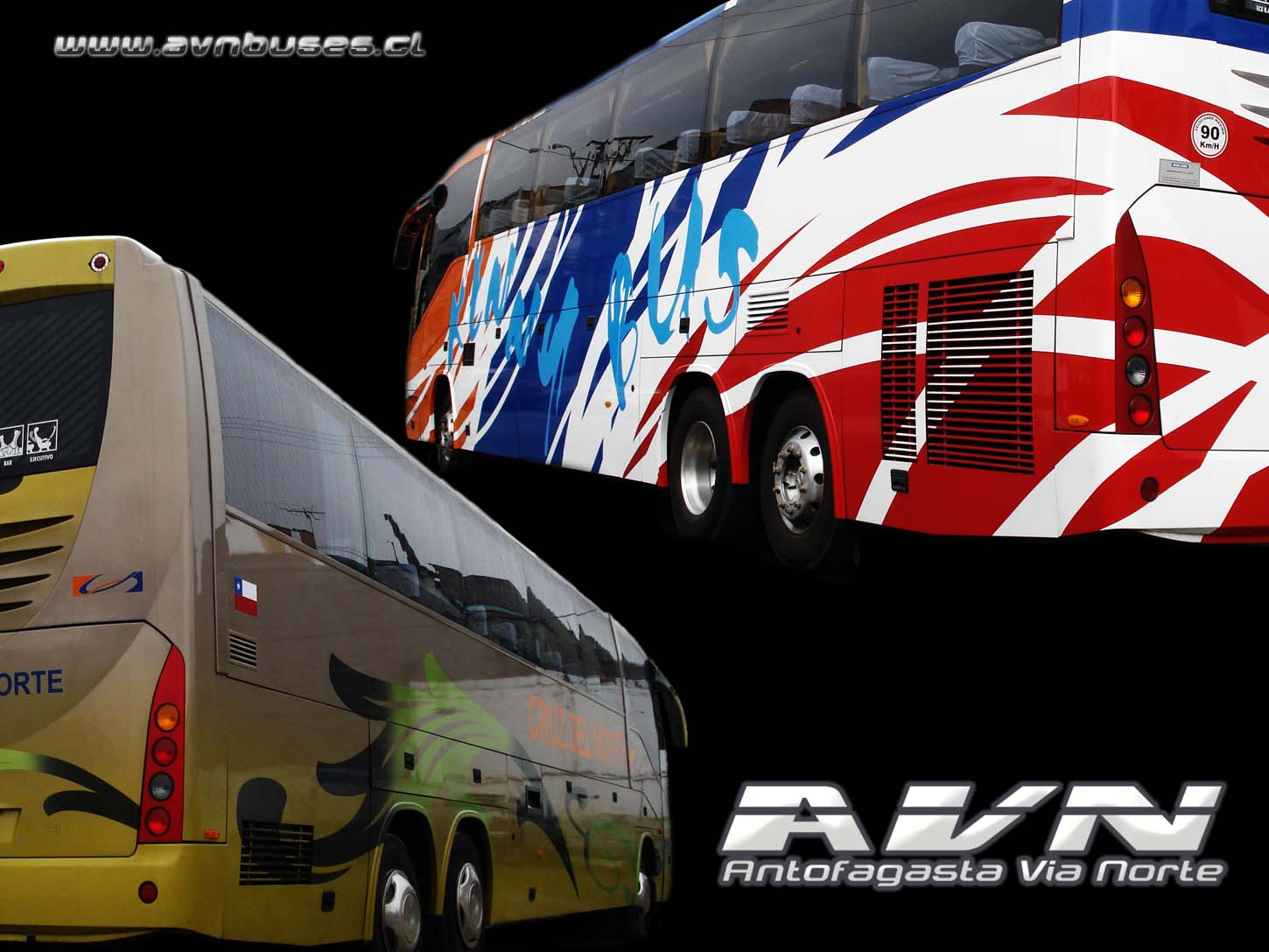 Wallpaper Cruz del Norte / Kenny Bus