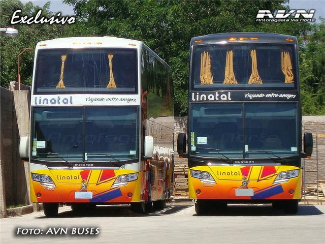 Busscar New Panoramico DD - Volvo / Linatal