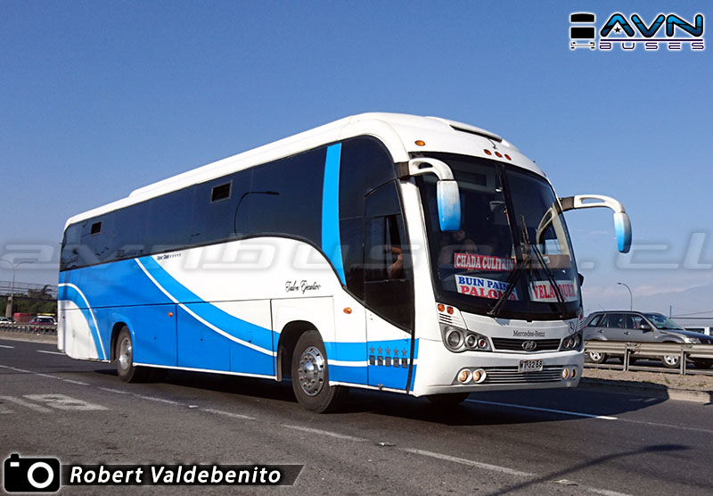 Maxibus Lince 3.45 - Mercedes Benz / Buin Maipo