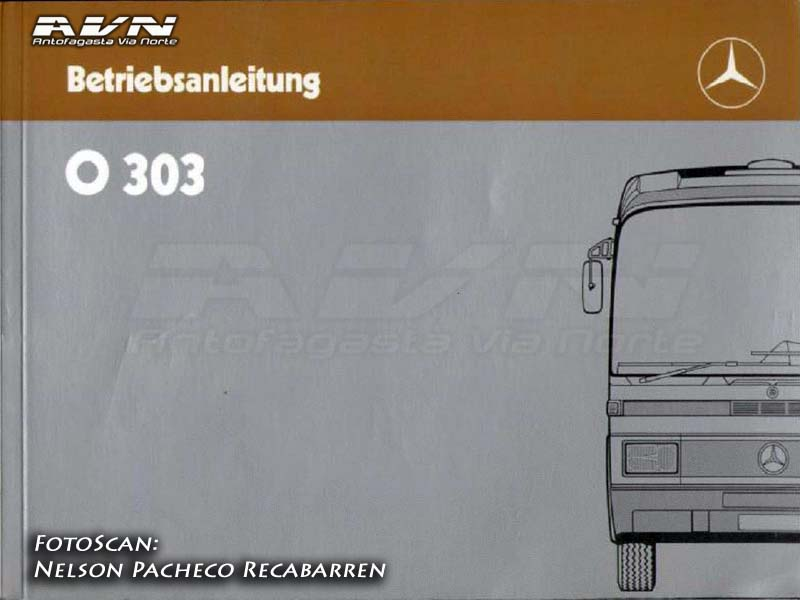 Portada Catalogo Mercedes Benz O303