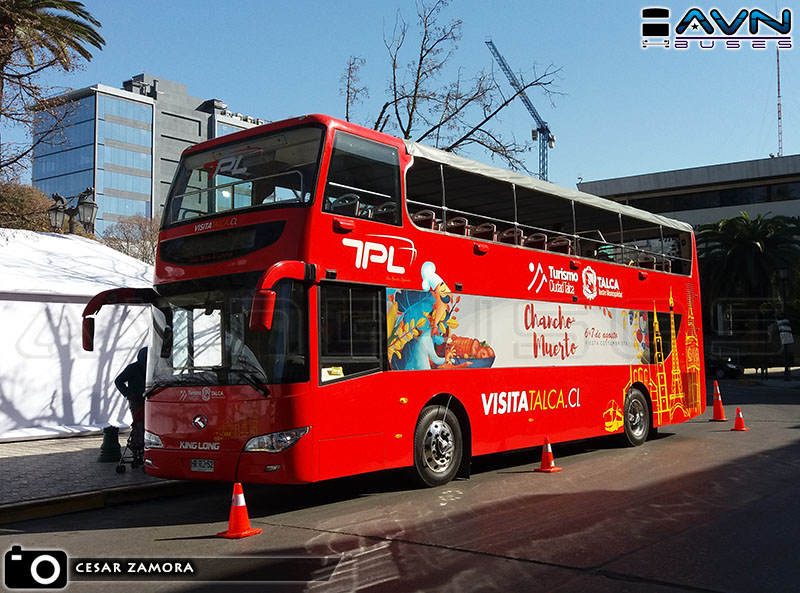 King Long XMO 511166 - Talca Paris & Londres