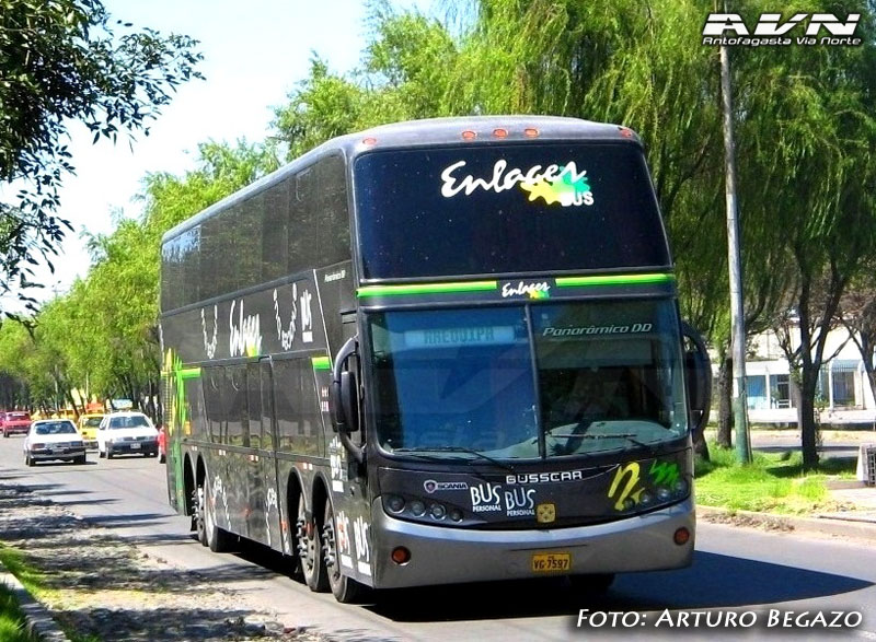 Busscar Panoramico DD - Scania K380 / Enlaces Bus
