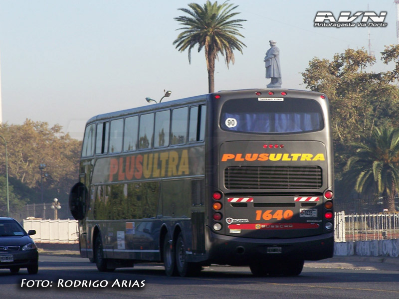 Busscar Panoramico DD - Scania K420 / PlusUltra