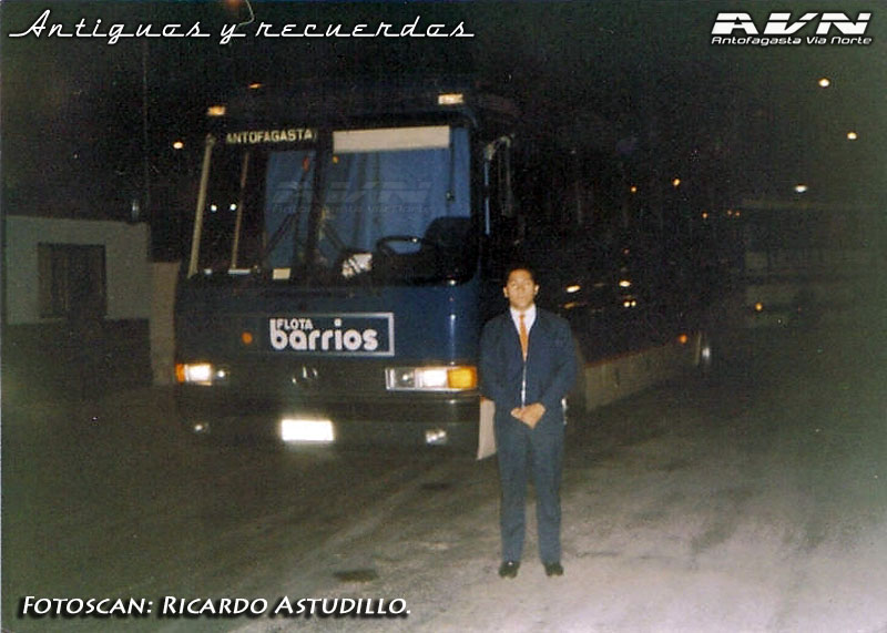 Mercedes Benz O-371RS / Flota Barrios