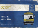 Catalogo Mercedes Benz O-371 R - RS - RSD